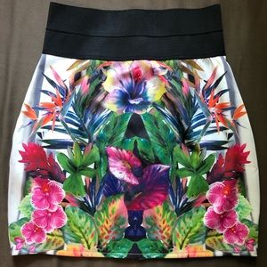 Mustard seed mini skirt new